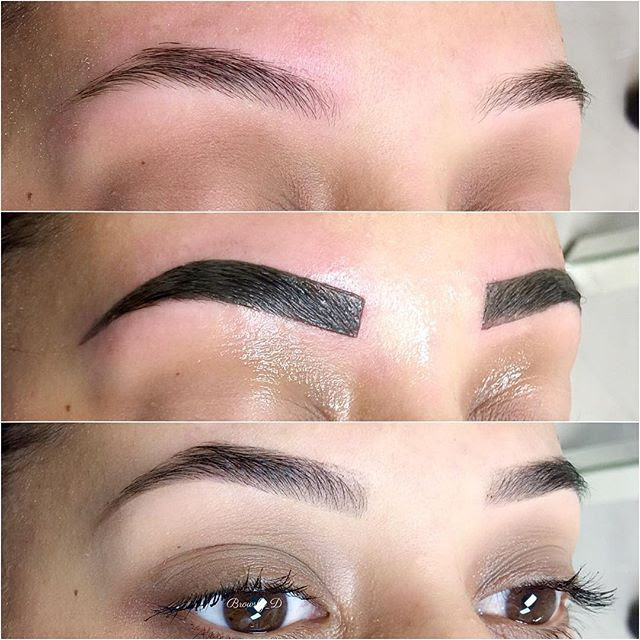 Henna Face Tattoo: Henna On Your Face??? Introducing New Henna Eyebrows At EOY